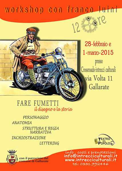 workshop fumetto 2015