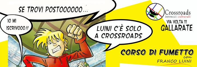 Fumetto con Franco Luini