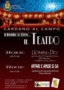 A Riveder le stelle... il TEATRO @ Cardano Al Campo   Lombardia   Italia