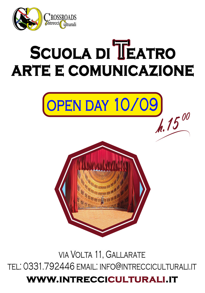open day corsi gallarate 2017