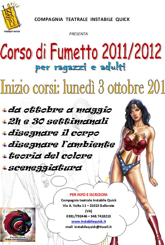 Corso Fumetto 2011-2012